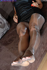 In Pantyhose Bathed 114
